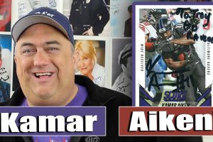 Kamar Aiken Autograph Through The Mail – TTM! Baltimore Ravens!