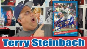 Terry Steinbach TTM Success from A's Legend!