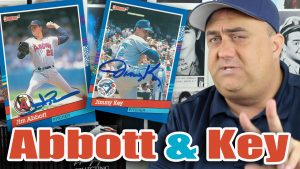 Double Jims! Jim Abbott and Jimmy Key TTM Successes!