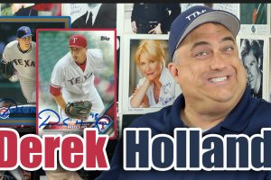 Derek Holland Autographs Through The Mail!