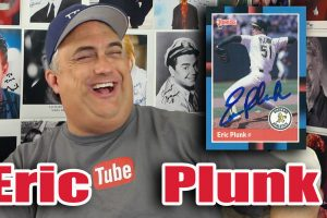 Eric Plunk of the Oakland A's!