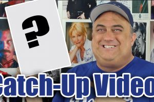Catch-Up TTM Video! TV, Film, NFL, MLB!
