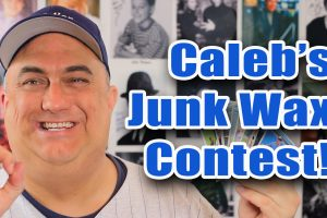 Caleb's Cards Junk Wax Contest Card Reveal!