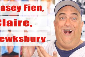 Casey Fien, Fred Claire and Bob Tewksbury Autographs