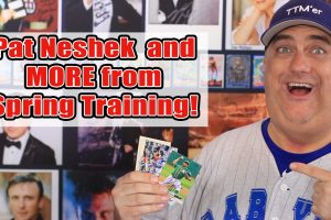 Major League Collector Pat Neshek and more Spring Training TTM Autograph returns