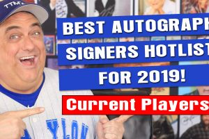Best TTM Signers for 2019 To Get Autographs