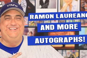 Ramon Laureano and other current player TTM Autograph returns through the mail