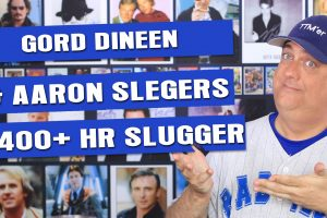Current player Aaron Slegers, NHL's Gord Dineen and 400+ HR Slugger autographs!