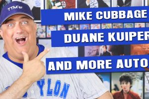 Mike Cubbage, Duane Kuiper and more awesome MLB Autographs!